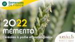 Memento 2021 céréales à paille et protéagineux