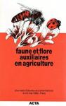 Faune et flore auxiliaires en agriculture : journées d'études et d'informations : Paris, 4 et 5 mai 1983