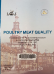 Poultry meat quality : proceedings of the XIII european symposium on the quality of poultry meat : september 21-26, 1997, Poznan (Pologne)
