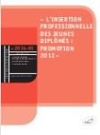 L'insertion professionnelle des jeunes diplômés : promotion 2012. In Les études de l'emploi cadre, N°2014-65
