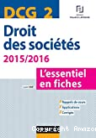 DCG 2 : droit des sociétés : l'essentiel en fiches