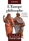 L'Europe philosophe