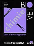 Chimie. Tome 1, Cours et tests d'application