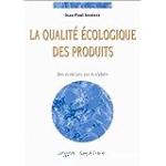 La qualité écologique des produits
