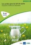 Les acides gras du lait de vache
