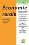 Caractérisation socio-économique des formes d'agriculture durable